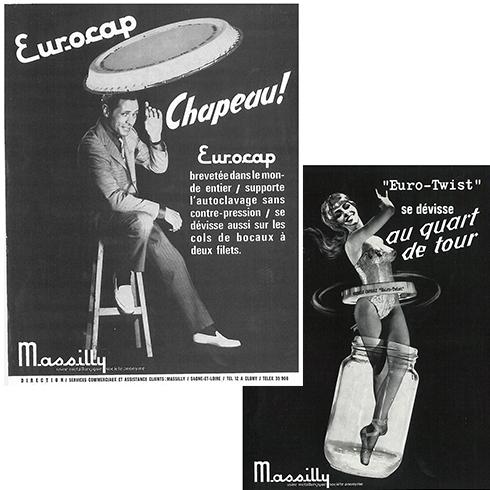 Publicite Massily 1950